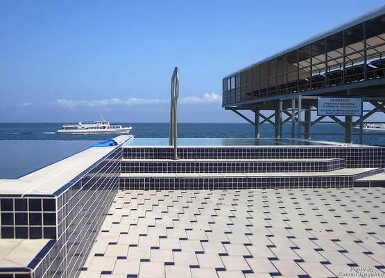 Пляж отеля Respect-Hall