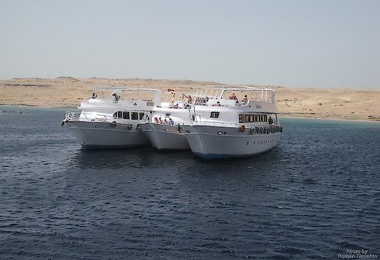 Яхты в красном море, Египет