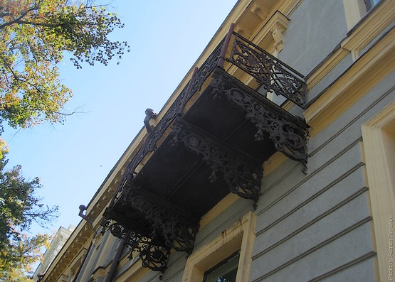 Балкон на улице Сумской