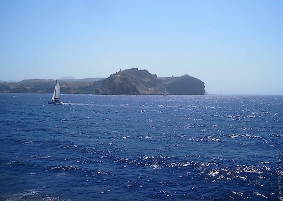 На яхте в Эгейском море