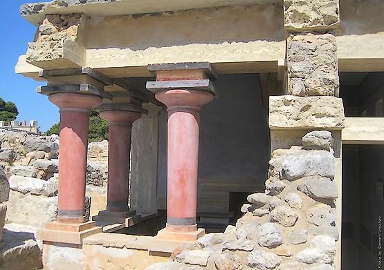 Восстановленные колонны