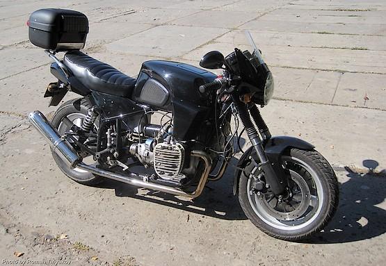 Мотоцикл сделанный мастером