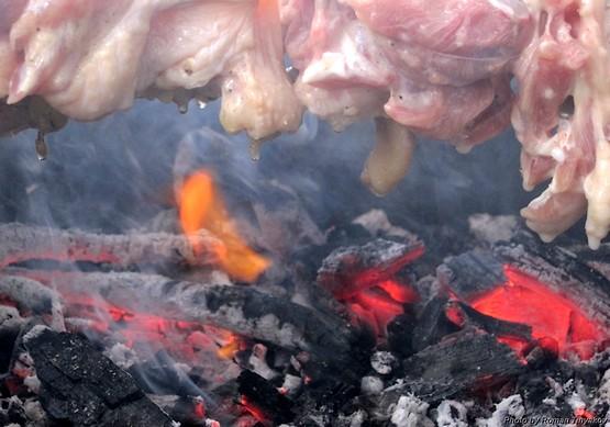 Жар и мясо