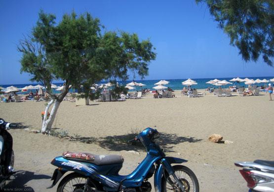Пляж острова Крит