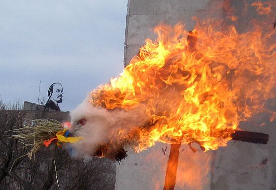 Из искры возгорится пламя...