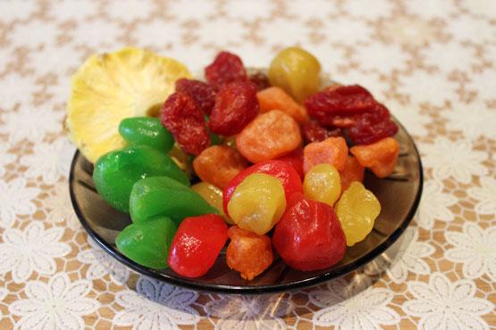 Блюдце сухофруктов
