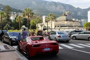 На улице в Монте-Карло
