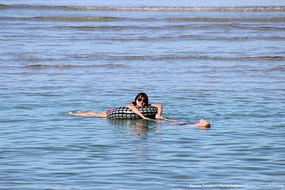 Танюшка с Алексеем на водах Персидского залива