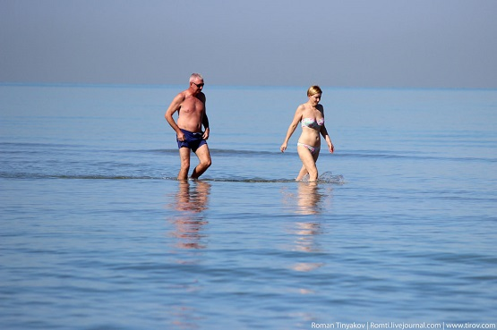 Персидский залив по колено
