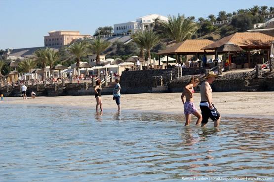 Прогулка по Персидскому заливу во время отлива