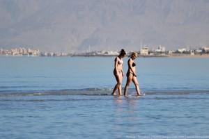 Прогулка по воде во время отлива