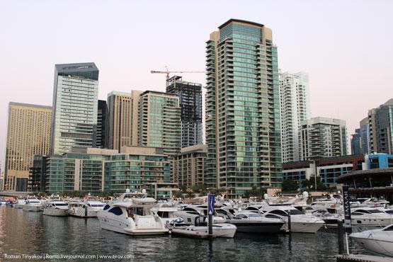 У Dubai Marina Yacht Club