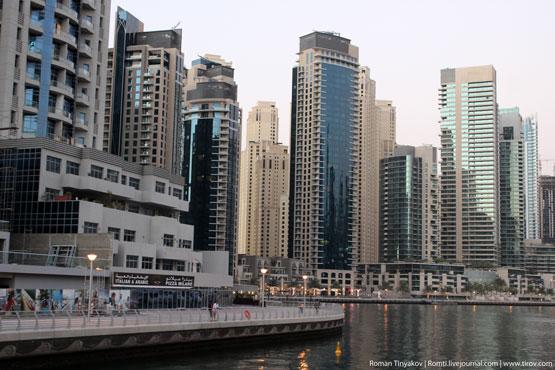 Беговая дорожка в Дубаи Марина