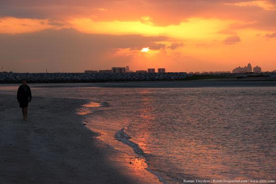 По берегу Персидского залива