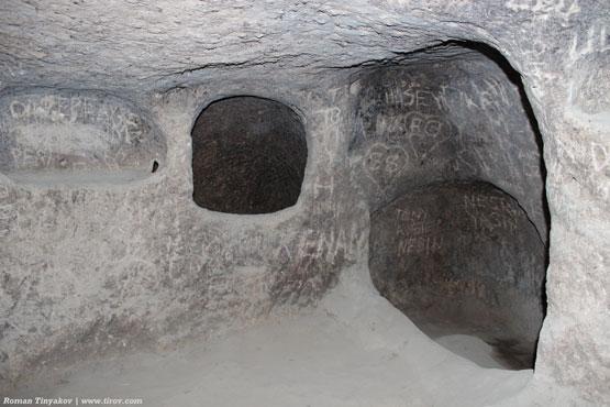 Комната в подземном городе