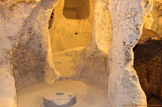 Помещение подземного города Каймаклы