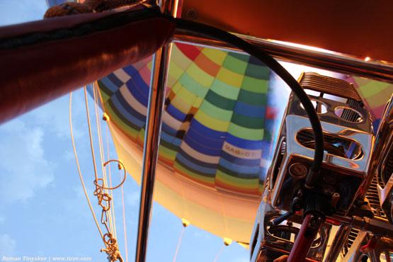 Полеты на воздушных шарах в Каппадокии