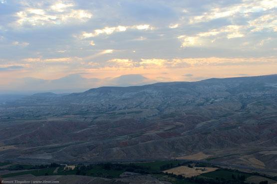 Рассвет в Каппадокии, Турция