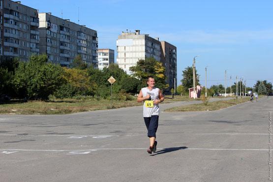 Во время бега на 10 км