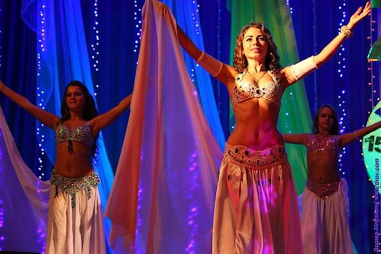 Во время танца