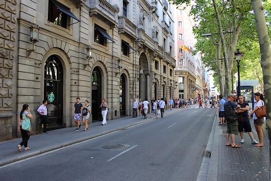 Дорога в Барселоне