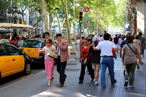 Прогулка улочками Барселоны
