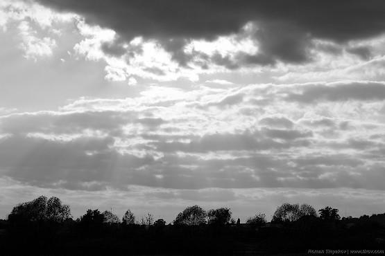 Небо над Алексеевкой