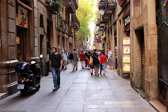 Пешком по улицам Барселоны