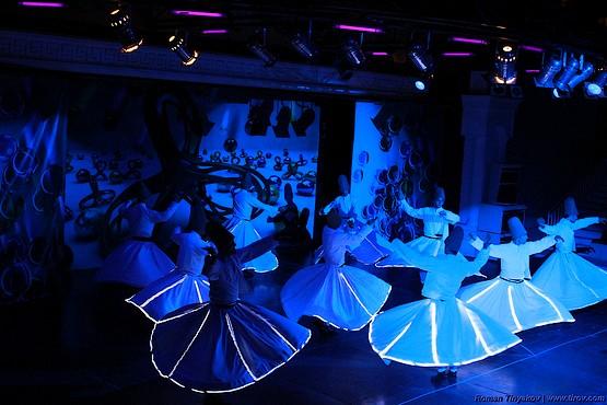 Танец Дервишей в амфитеатре отеля
