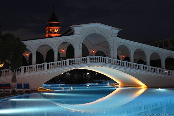 У моста в отеле Venezia Palace Deluxe Resort 5*