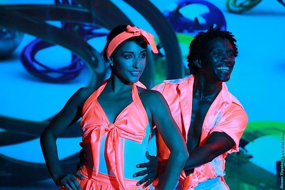 В танце на сцене амфитеатра отеля Venezia Palace Deluxe Resort 5*