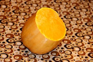 Кусок мускатной тыквы