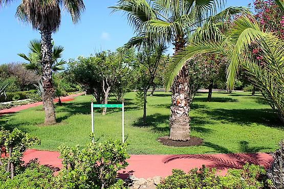 Беговая дорожка отеля Venezia Palace Deluxe Resort 5*