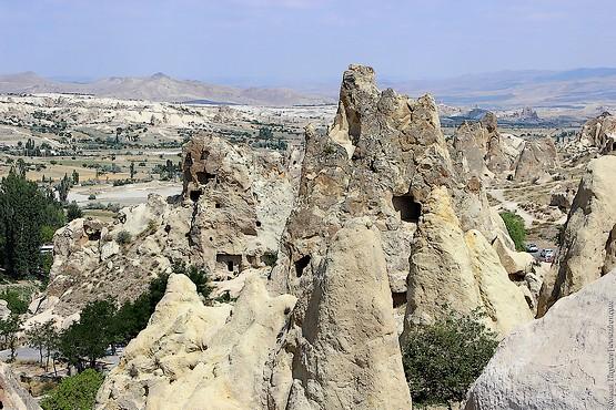Монастырь в скалах, Каппадокия, Турция
