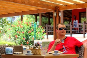 С кофе в отеле Venezia Palace Deluxe Resort 5*