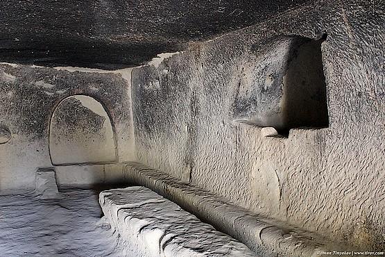 Столовая в мужском монастыре Гёреме