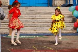 Танец на День знаний