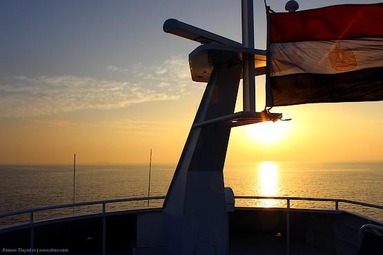В красном море под флагом Арабской Республики Египет