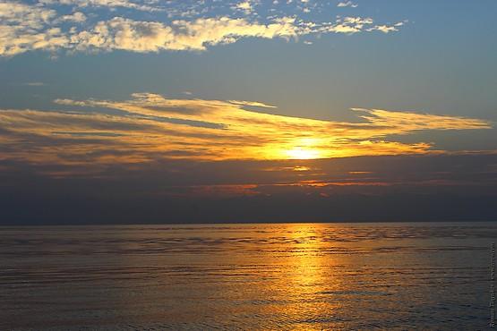 Вид с парома в красном море