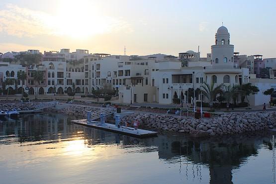 Заправка на воде в порту Акабы