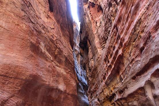 Ущелье в скалах