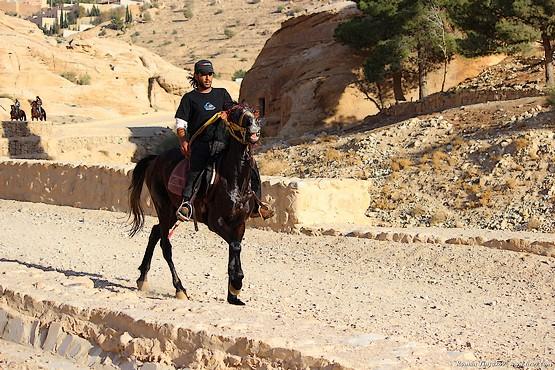 Всадник в Иордании