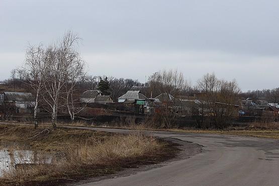 На повороте дороги в Алексеевке