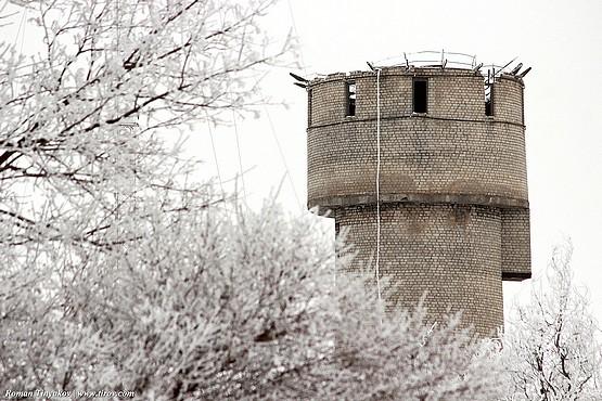 Водонапорная башня без крыши
