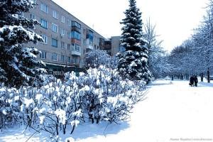 Вдоль по заснеженной улице Комарова