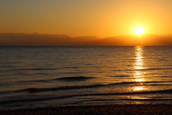 Дорога к солнцу по Красному морю