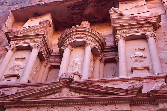 Верхняя часть Эль-Хазна в Иордании