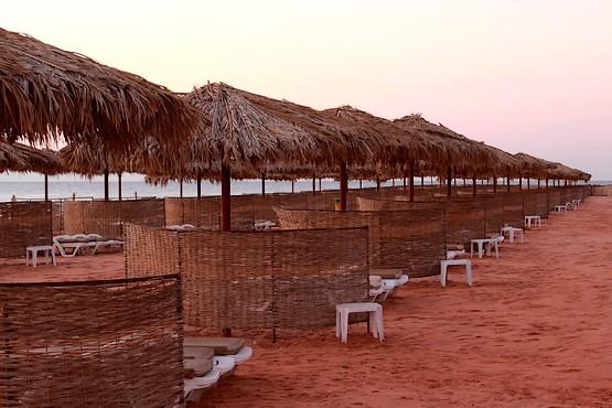 Фотография пляжа отеля на рассвете