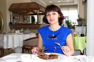 Татьяна в ресторане Lobby Lounge
