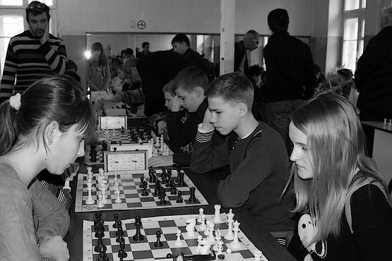 Команда города Первомайский на финале чемпионата Харьковской области по шахматам